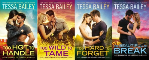 SPOTLIGHT/GIVEAWAY: 'Too Hard to Forget' by Tessa Bailey