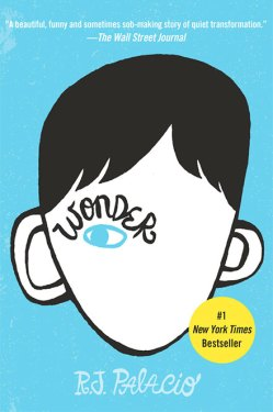 Book Club; WONDER by R.J. Palacio Book Cover; Courtesy of Lionsgate