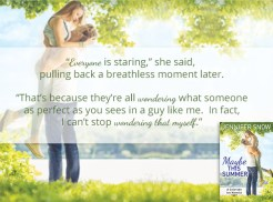 SPOTLIGHT/GIVEAWAY: 'Maybe This Summer' by Jennifer Snow
