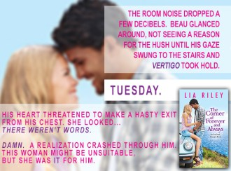SPOTLIGHT/GIVEAWAY: 'The Corner of Forever and Always' by Lia Riley