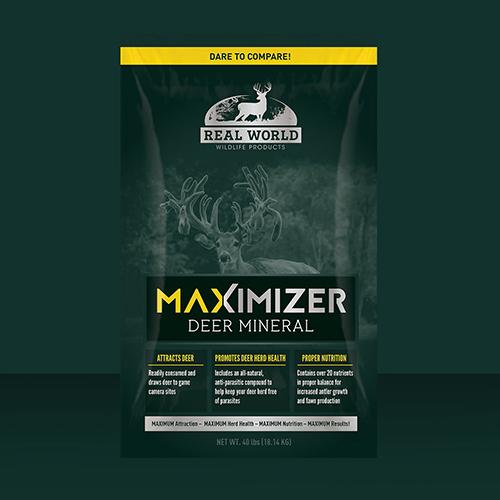 Real World Maximmizer Deer Mineral Bag
