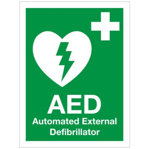 AED location signs