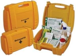 Biohazard Spill Kit - cleaning vomit
