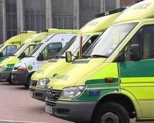 NIAS ambulances