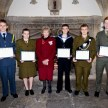 Somerset Lord-Lieutenant's Cadets 2013 at the awards ceremony