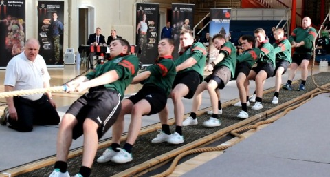 The Gloucestershire ACF Tug of War Male Team
