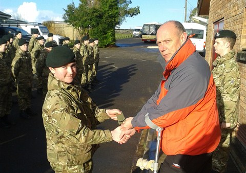 Somerset Army Cadets Earn New Qualifications At Wet And