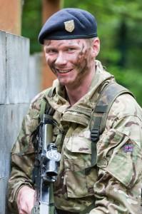 Officer Cadet Andrew Pring Photo: S/Sgt Mark Nesbit RLC