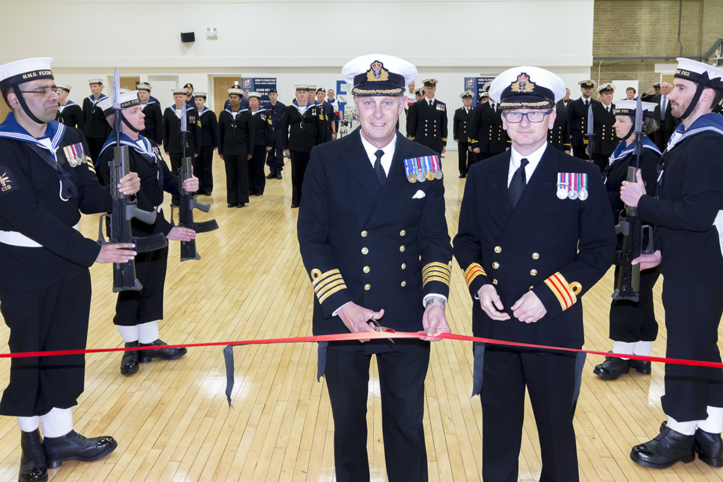New Drill Deck at HMS Flying Fox officially opened |