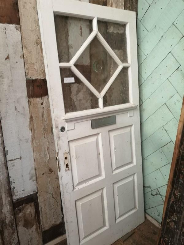 Bevelled Glass Door