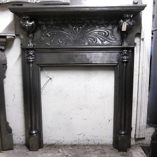 Reclaimed Fireplace