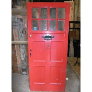 Red External Reclaimed Door