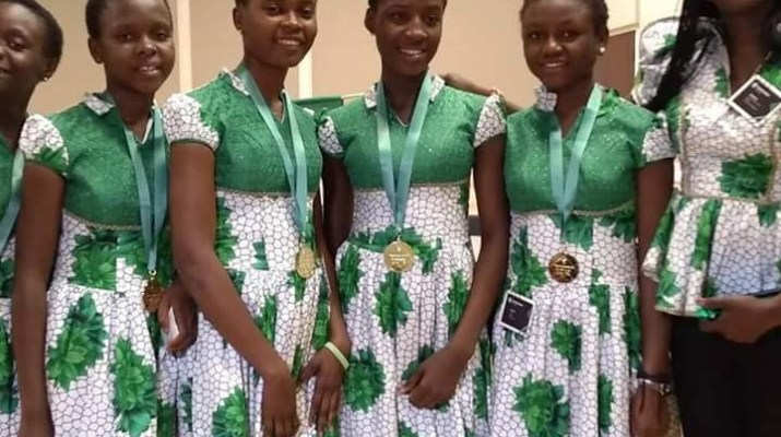 The girls came top showcasing FD-Detector, a mobile application they developed. The girls developed the application to assist Nigeria combat fake pharmaceutical products in the country.