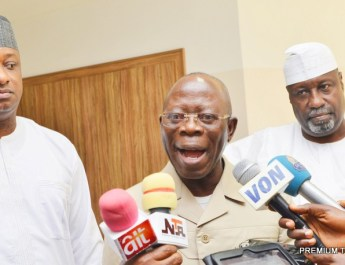 Hold Jonathan Responsible for Vote Buying--- Oshiomhole