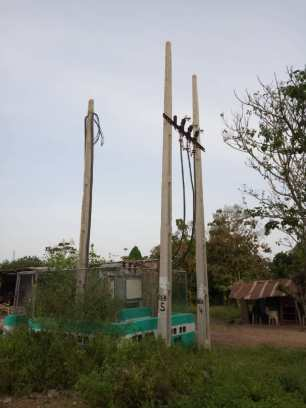 Community abandoned rural electrification project