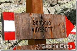 Sentiero Videsott