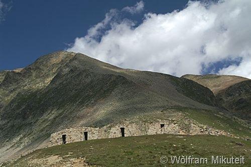Trunen am Colle della Lombarda
