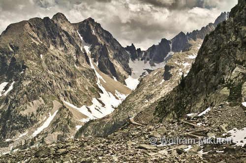 früher Jagdrevier Entracque - Valdieri, heute der Weg zum Rifugio Questa, Foto: © Wolfram Mikuteit