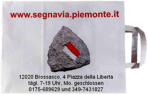Segnavia - Porta di Valle. 12020 Brossasco. 4 Piazza della Libertà