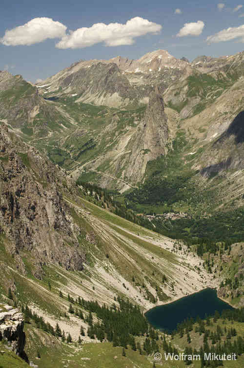 Lago Visaisa - Chiappera - Rocca Provencale - Valle di Maurin