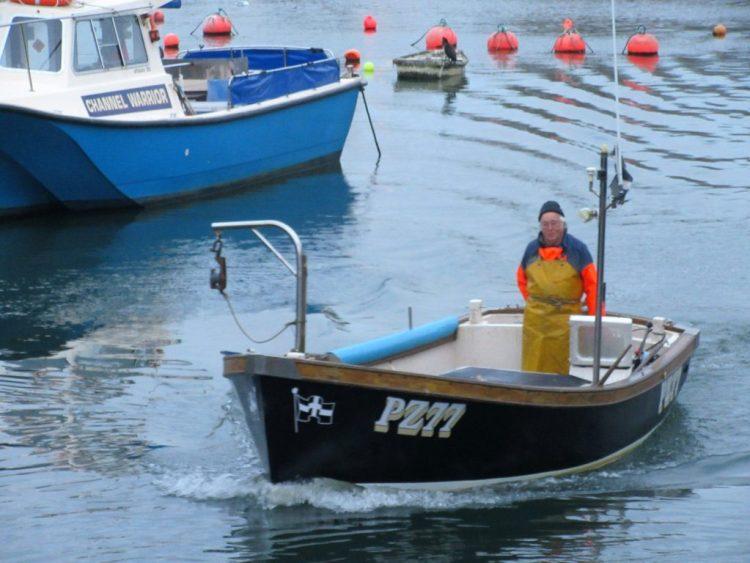 Fishing in West Bay Dorset
