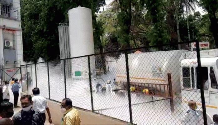 অক্সিজেন ট্যাঙ্ক লিক হয়ে দেশে ২২ করোনা রোগীর মৃত্যু - West Bengal News 24