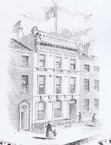 LV Insurance 23 Islington, Liverpool. Head Office from 1868.