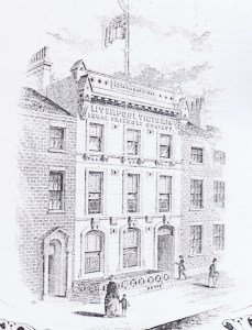 LV Insurance 23 Islington, Liverpool. Head Office from 1868.