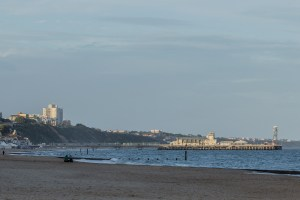 Westbourne Beach - Bournemouth Pier.
