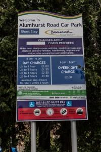 Westbourne Car Parks - Alumhurst Road Short Stay.
