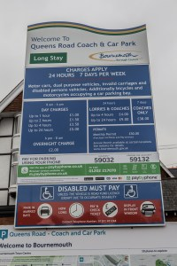Westbourne Car Parks - Queens Road Short Stay.