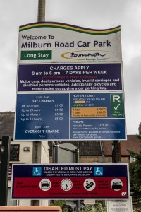 Westbourne Car Parks - Millburn Road Long Stay.