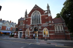 Westbourne Supermarkets, Tesco Express - Westbourne Methodist Church