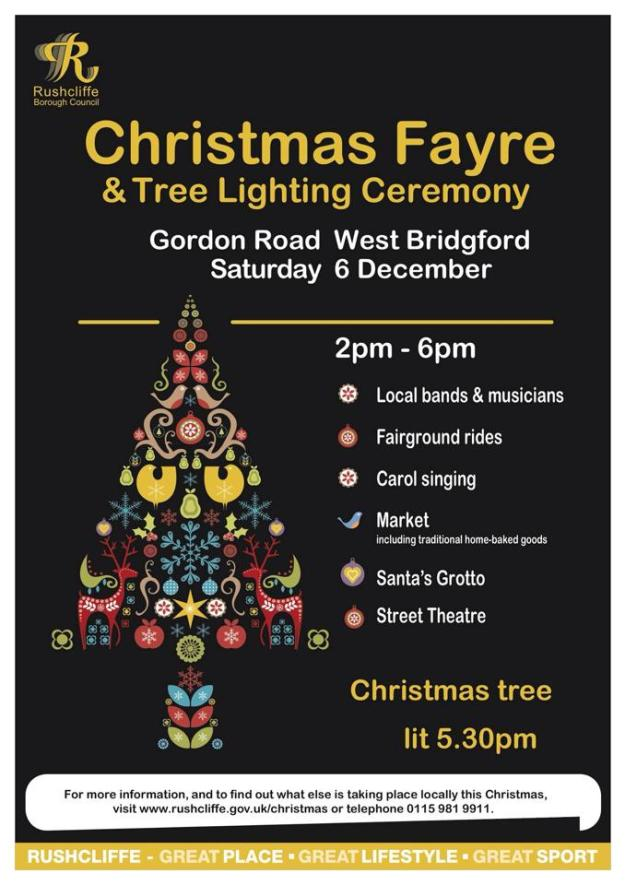 West Bridgford Christmas Fayre 2014