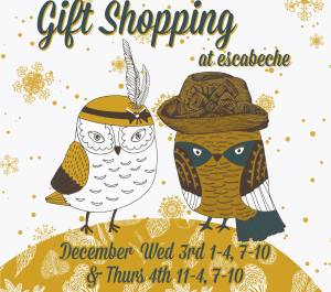 Escabeche Christmas shopping event 2014