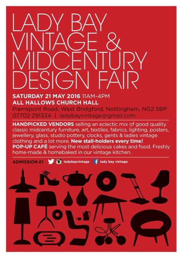 Lady Bay Vintage and mid-century Design Fair