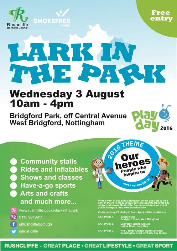Lark in the Park West Bridgford