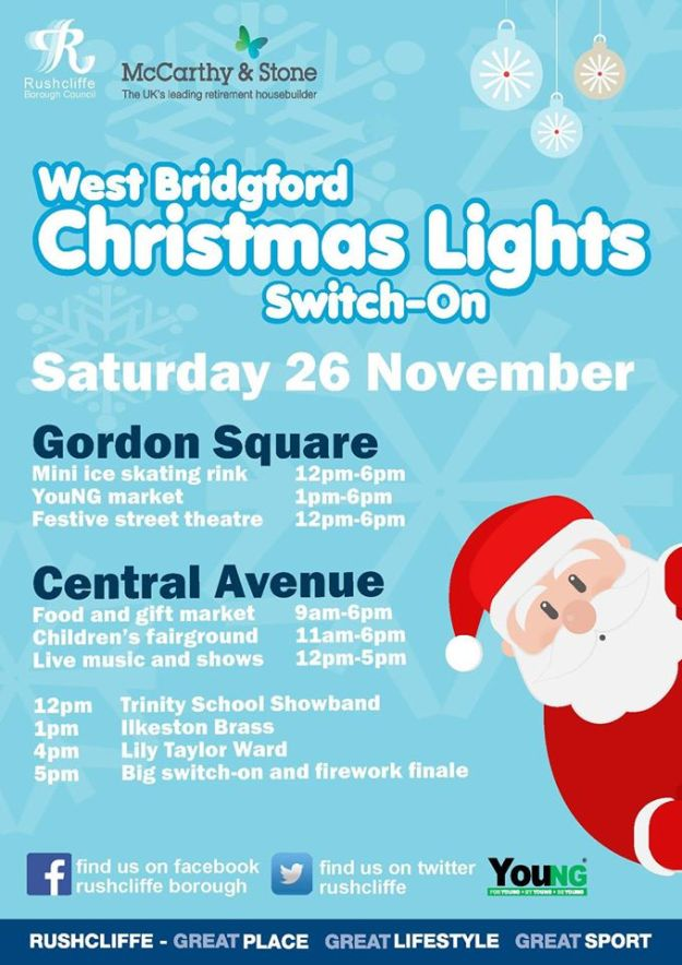 Christmas Lights Switch On 2016