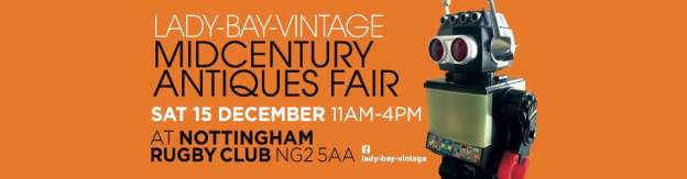 lady bay midcentury antiques fair 2018