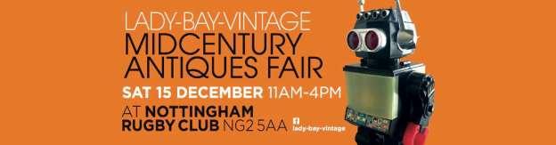 lady bay midcentury antiques fair 2018