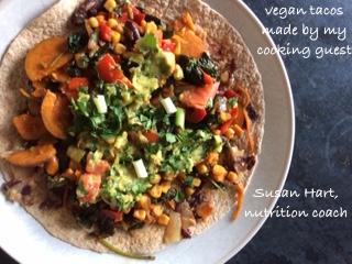 Susan Hart Vegan cooking class