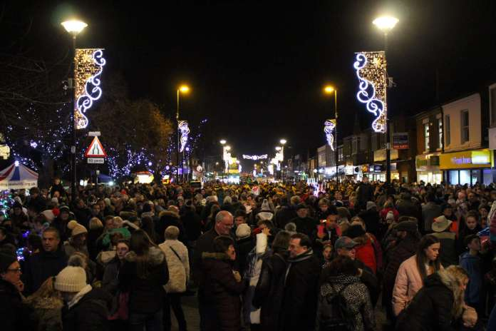West Bridgford Christmas Lights