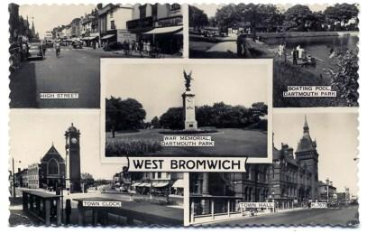 Postcard, cira 1950s.