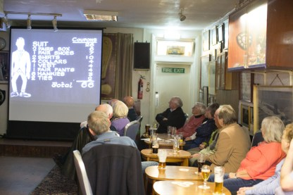 Film Night at the Naval Club.