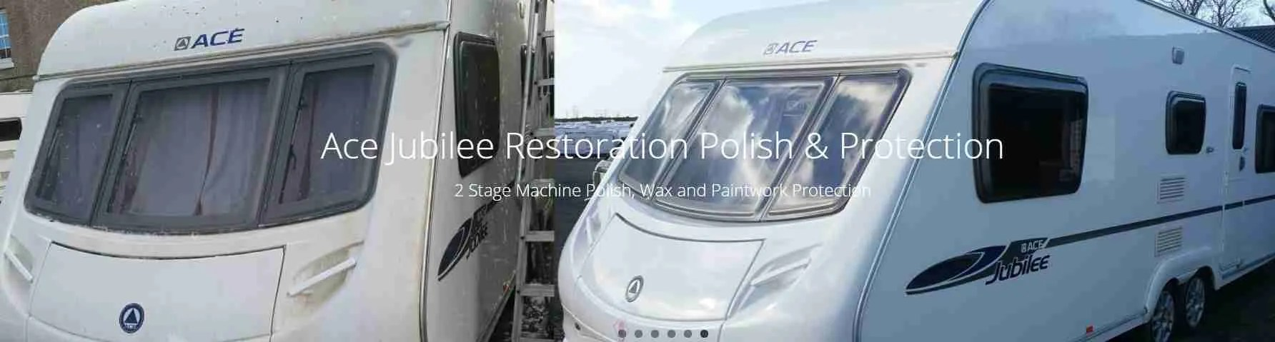 Caravan Polishing Near Blackpool