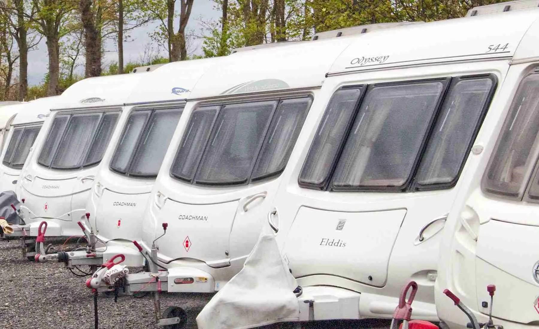 outdoor caravan storage blackpool