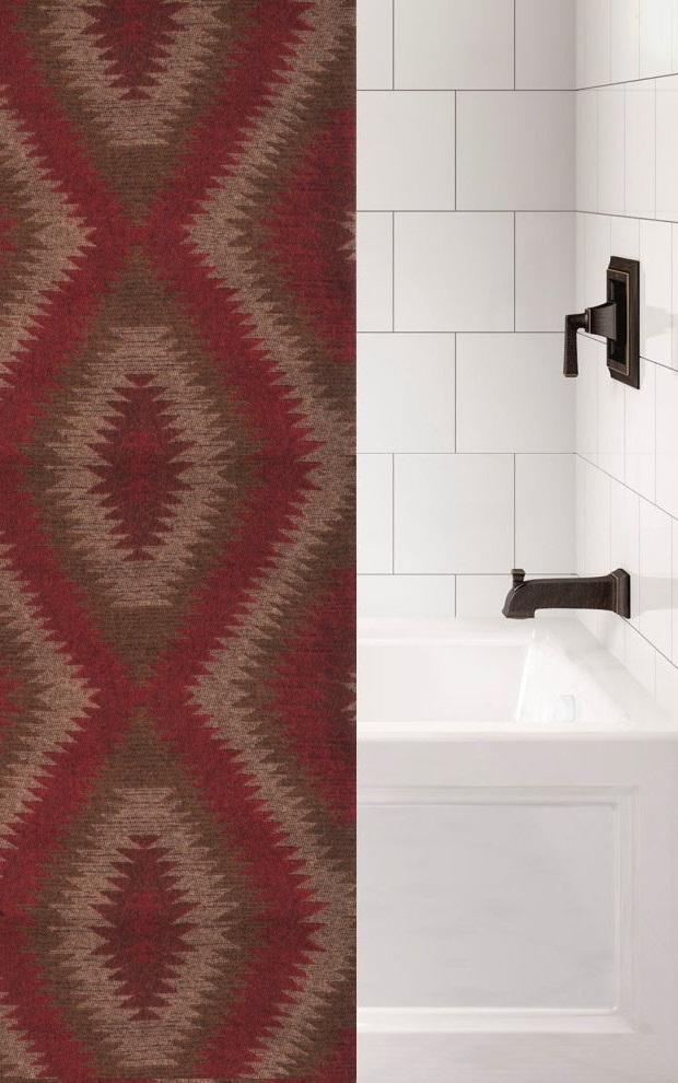 wampum luxury southwest shower curtain