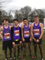 West Cheshire AC Under 17 Men at Nottingham