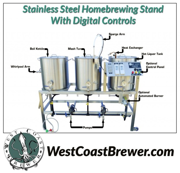 Stainless Steel Homebrewing Rig
