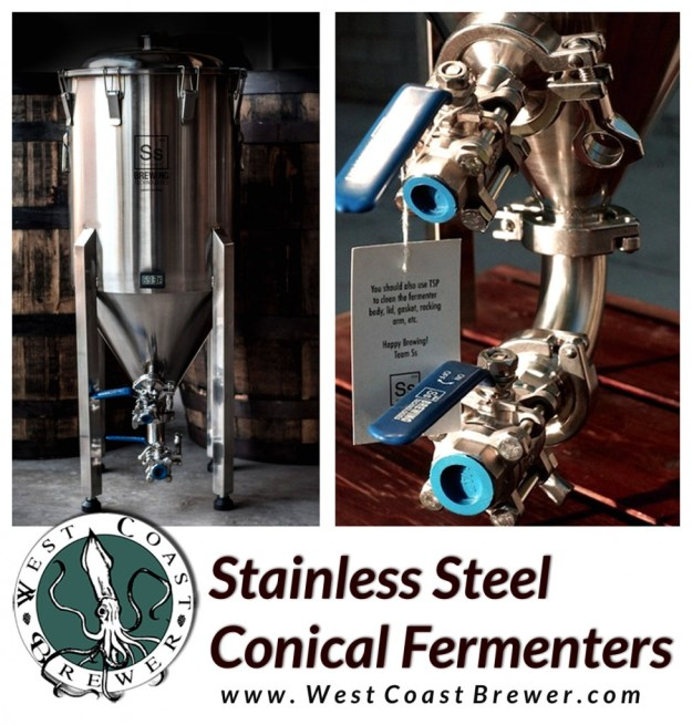 Stainless Steel Homebrewing Fermenters